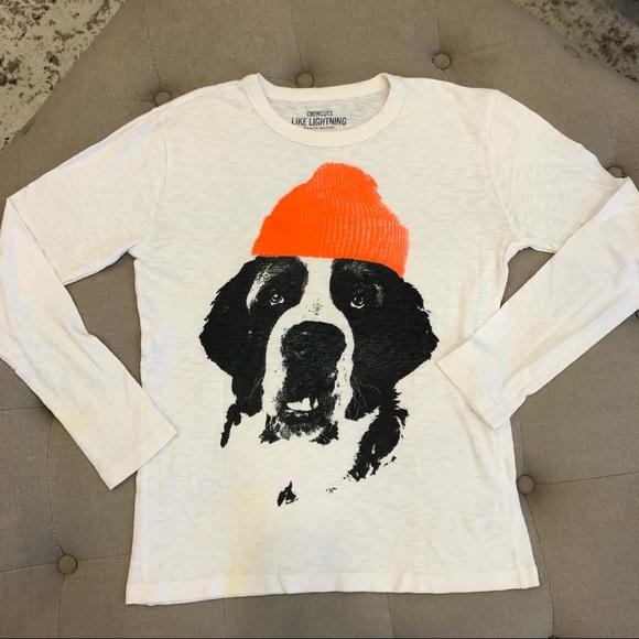 Crewcuts Cool Dog Shirt Sz 12